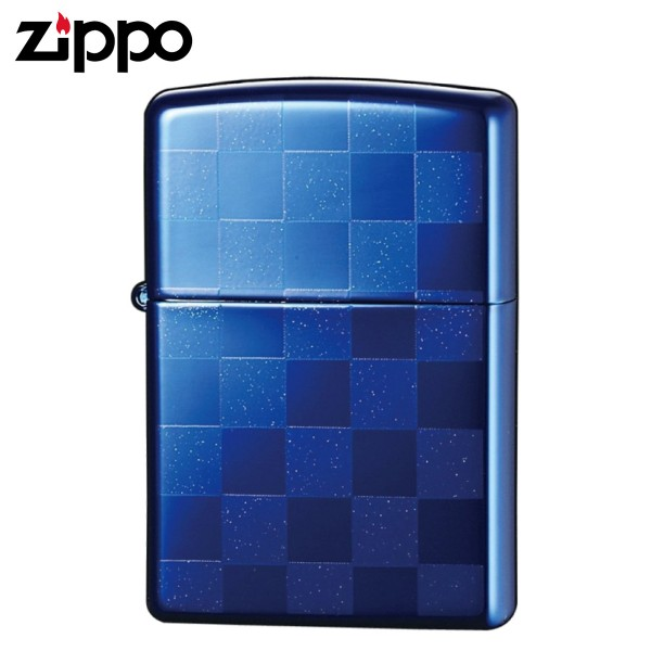 zippo ジッポーライター チェック 市松模様 チェッカー…