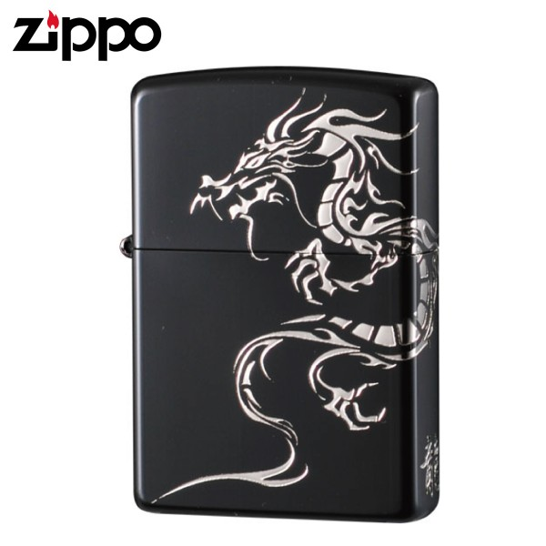 zippo ジッポーライター タイガーアンドドラゴン2BKSDR
