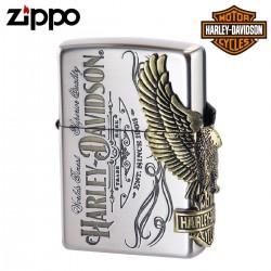 ジッポー ライター ハーレーダビッドソン HARLEY DAVIDSON  オイルライター zippo ジッポライター サイドメタル バイク好き 彼氏 男性 メンズ 喫煙具 ブランド