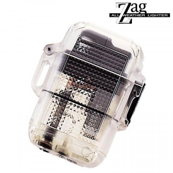 ターボライター ガスライター ZAG 362-0001 シースルー黒