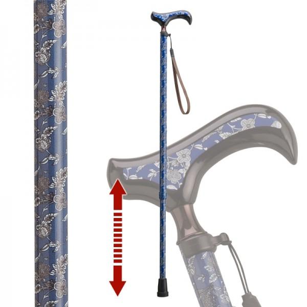 伸縮杖 伸縮型杖 愛杖 Fx-14A ストラップ付き