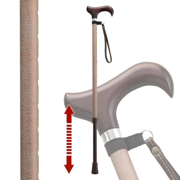 杖 光る 反射 伸縮杖 伸縮型杖 愛杖キラリ KR-3 ストラ…