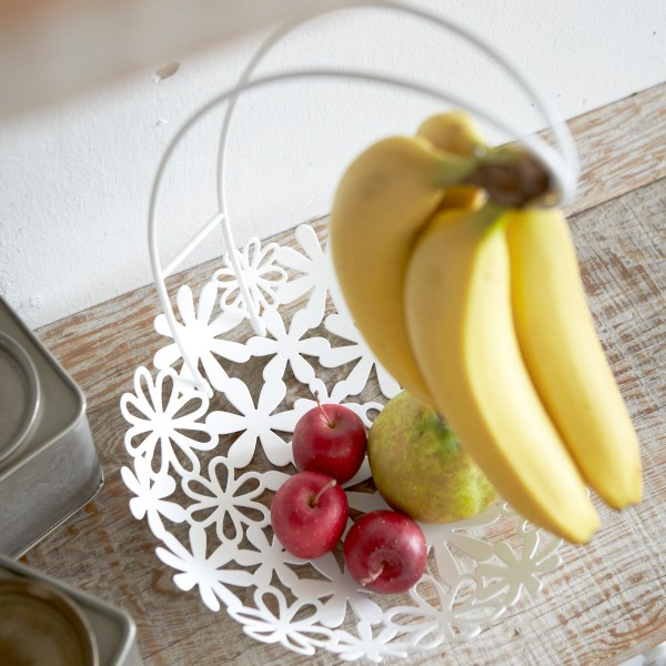 バナナスタンド 果物入れ バナナスタンド&フラワーバ…