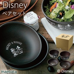 ディズニー 食器セット 食器 セット ペ ア ギフト 結婚祝い ブライダル ミッキー&フレンズ ペアプレート&ボウル