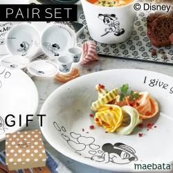 ディズニー 食器セット ペア ギフト 結婚祝い ブライダル ミッキー お皿 カップ ミッキー&ミニー ペアランチセット