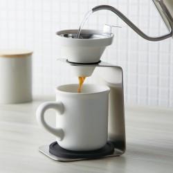 コーヒードリッパー セット コーヒーメーカー ハンドドリップ ブリューコーヒー 一人用ドリッパーセット ホワイト 51641 コーヒーグッズ特集 敬老の日