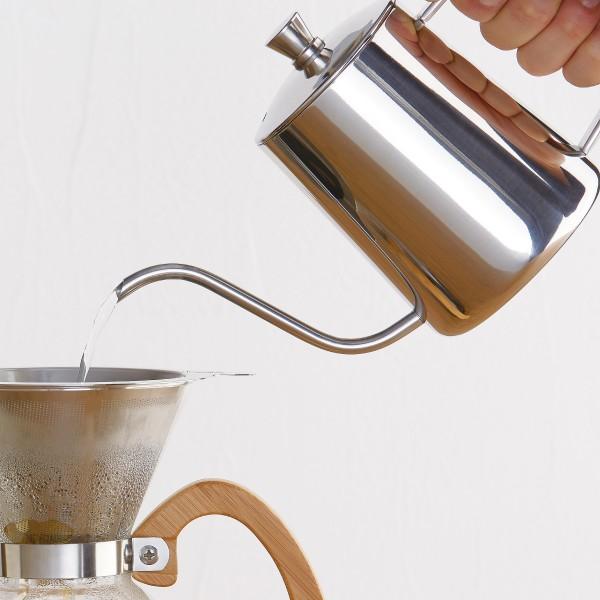 コーヒーポット ドリップケトル ブリューコーヒー ドリップポット シルバー 51643 コーヒーグッズ特集