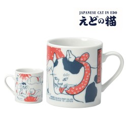 マグカップ 猫 歌川国芳 浮世絵 モダン えどの猫 SP-1718 猫 ねこ ネコ キャット おしゃれ かわいい