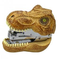 恐竜 グッズ 文房具 ステープラー ホッチキス おもちゃ ステープラー ティラノサウルス ユニーク雑貨特集 文具 ステーショナリー