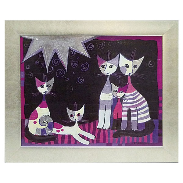 絵画 絵 壁掛け アート 猫 ネコ キャット インテリア …