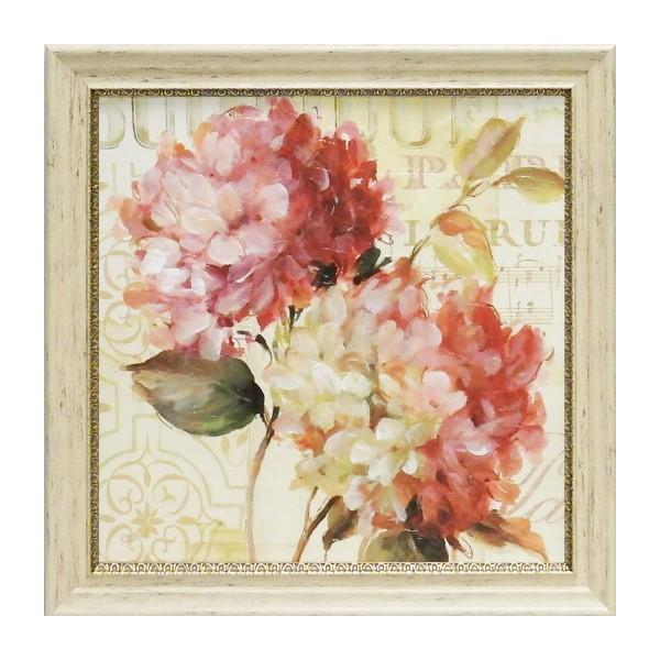 アート 壁掛け インテリア 絵画 花 フラワー 額入り アートパネル リサ オーディット ハーモニアス5