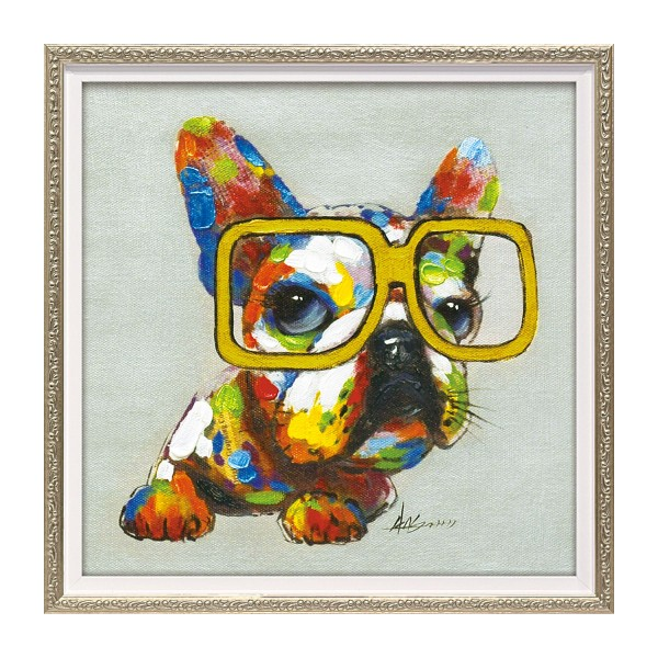 アートパネル モダン おしゃれ カラフル 犬 いぬ イヌ …
