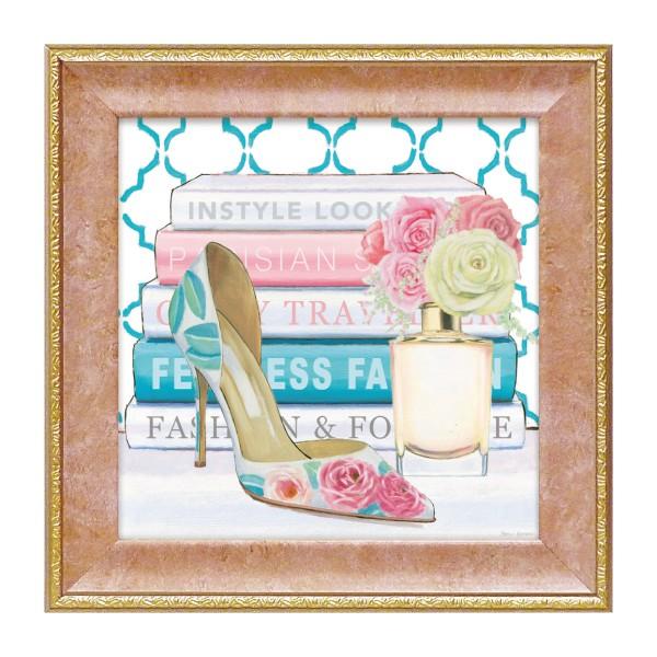 アート 壁掛け インテリア ファッション  フレンチ風 マルコファビアノ「フィアレス2」 ハイヒール 靴
