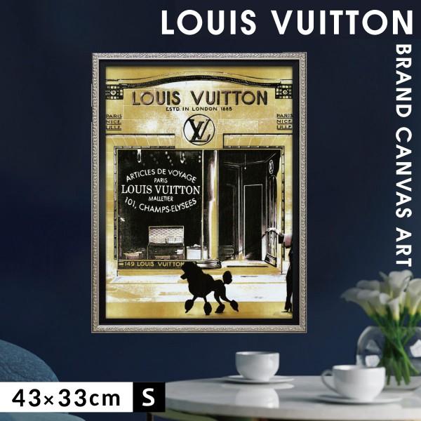 アートパネル ブランド ルイヴィトン インテリア オマージュキャンバスアート パリストロール2 Sサイズ マドレーヌ ブレイク