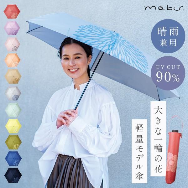 傘 レディース 日傘 ギフト 折りたたみ 晴雨兼用 軽量 UVカット uvカット 耐風 丈夫 紫外線カット おしゃれ かわいい ベーシックライトマルチミニ デザイン