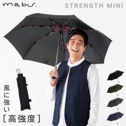 折りたたみ傘 メンズ 名入れ 丈夫 耐風 風に強い 高強度折りたたみ傘 ストレングスミニ mabu  レイングッズ