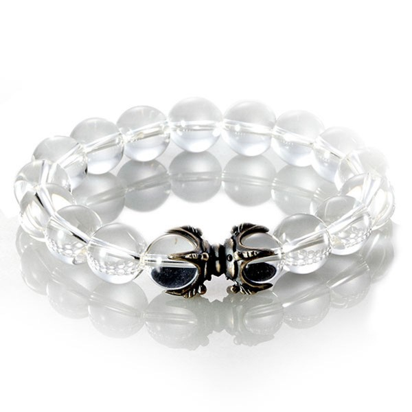 ブレスレット メンズ  数珠 数珠ブレス 水晶 パワース…