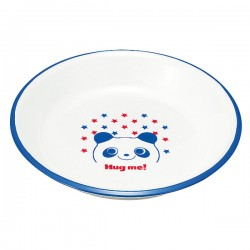 皿 お皿 プレート 子供用 キッズ 食洗機対応 食洗器対応 レンジ対応 山中塗 レンジスナックプレート パンダ Y15115-2 グッズ