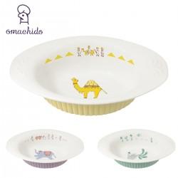 カレー皿 おしゃれ 楕円 可愛い おまち堂 カレープレート らくだ ラクダ かわいい グラタン皿