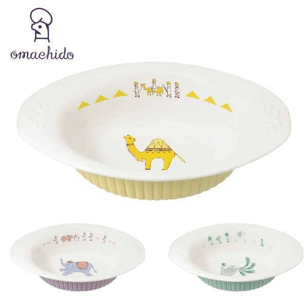 カレー皿 おしゃれ 楕円 可愛い おまち堂 カレープレート