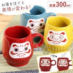 マグカップ マグ 和 和モダン 和風 だるま おしゃれ 日本製 和食器 和柄 父の日 贈り物 プチギフト だるまマグ 合格祈願 縁起物