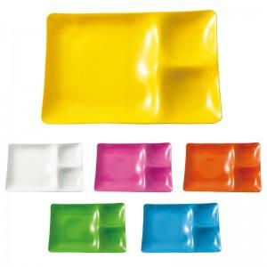 ランチプレート 皿 軽い プラスチック パーティ 仕切り…