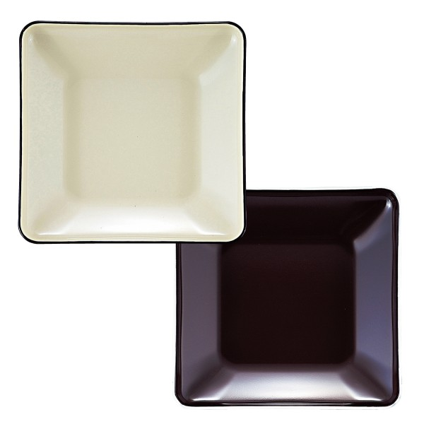 プレート 皿 割れない プラスチック 四角 角皿 日本製 電子レンジ対応 食洗機対応 食洗器対応 オープンプレート