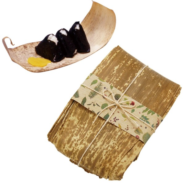 おむすび包み たけかわ 竹皮 Naturalist 10枚セット ひ…