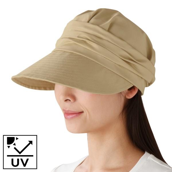 帽子 レディース UV 夏 UV対策 日よけつば広キャスケッ…
