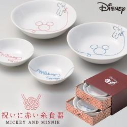 食器セット ペア 小鉢 ギフト ディズニー ミッキー LOD 電子レンジ対応 ペア鉢セット 引出ボックス入 3180-03