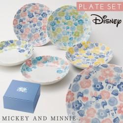 ディズニー 食器セット ギフト 結婚祝い ブライダル ミッキー ボウル フラワーミッキー ボウルセット