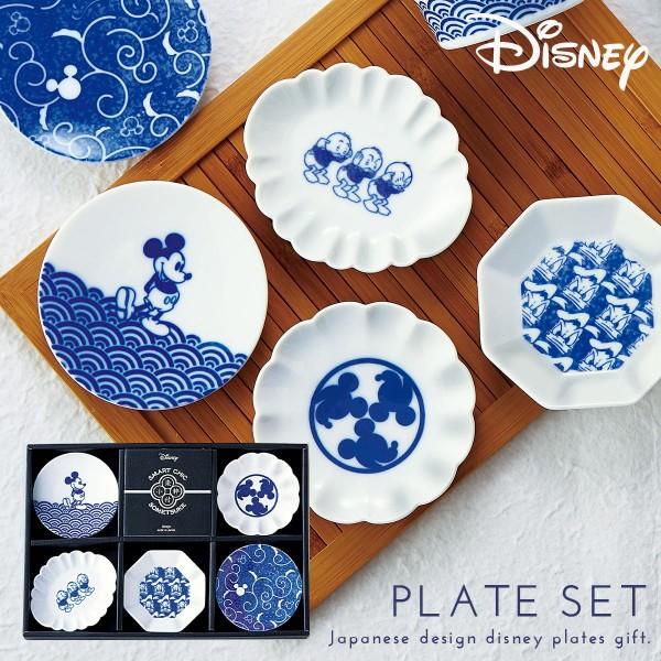 ディズニー 皿 食器セット ギフト 和 お皿 小粋染付 豆…