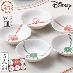 皿 セット ミッキー ディズニー 和食器セット ギフト 結婚祝い 小鉢揃 木箱入 電子レンジ対応 食洗機対応