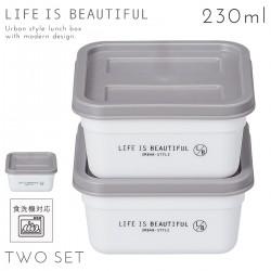 弁当箱 フルーツ用 デザート サブ 電子レンジ対応 食洗機対応 アーバンスタイル コンテナボックスS 2P