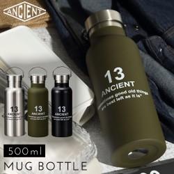 ウォーターボトル タンブラー 水筒 ステンレス ステンレスボトル おしゃれ ANCIENT ステンレスボトル 13 全3色