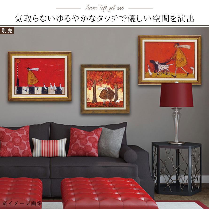 絵画 絵 インテリア 玄関 サムトフト ウォーキーズ ST-08005