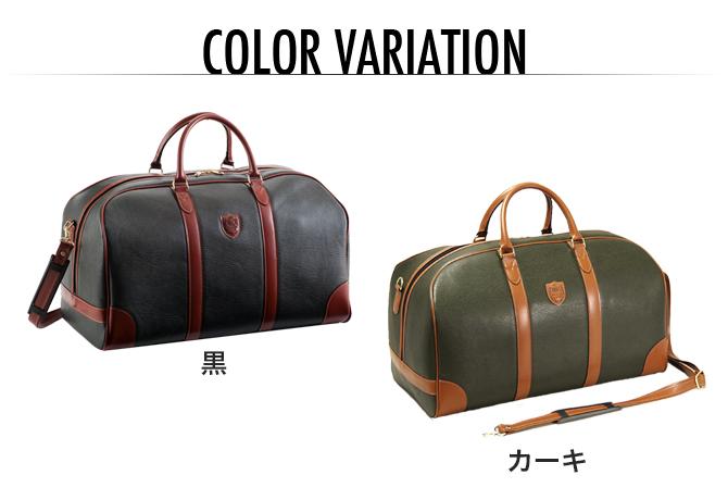 メンズ  紳士 旅行かばん バッグ ブレザークラブ BDII ボストンバッグ カーキ 10360  メンズファッション