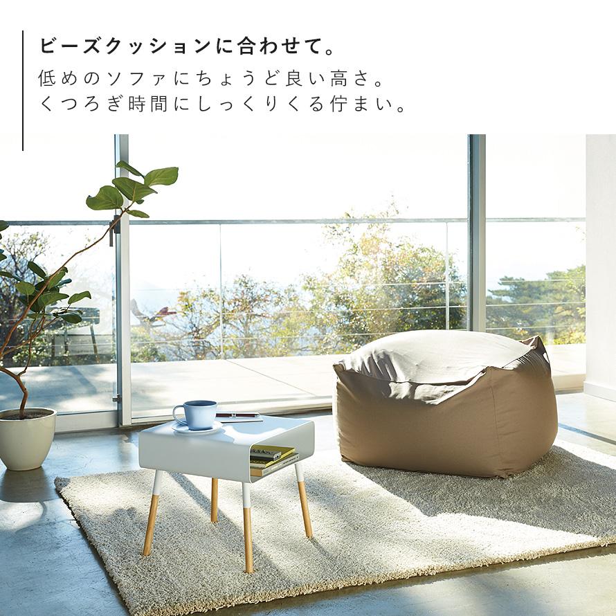 サイドテーブル おしゃれ シンプル ローサイドテーブル プレーン