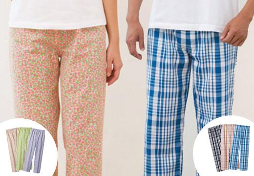パジャマ下