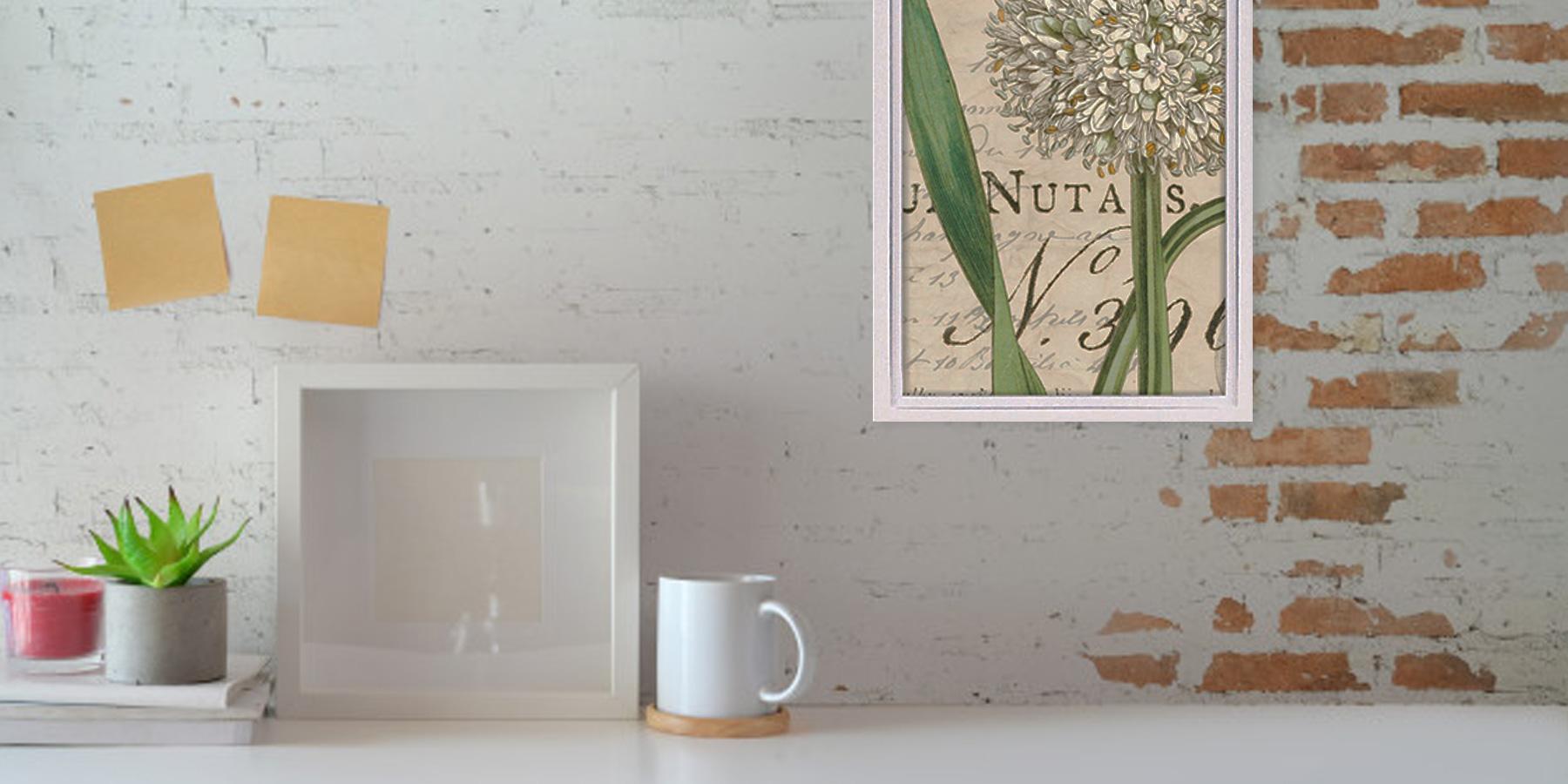 絵画 額入り 花 インテリア 壁掛け 卓上 アート アートパネル ロハス ミニアートフレーム ワイルド アップル スタジオ